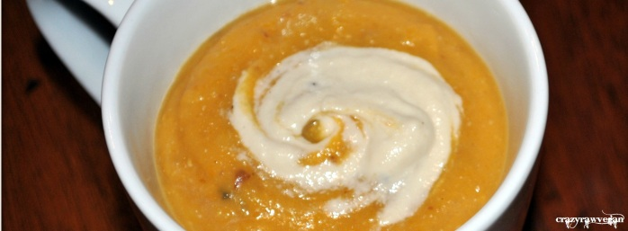 Roasted Butternut Squash and Red Potato Bisque