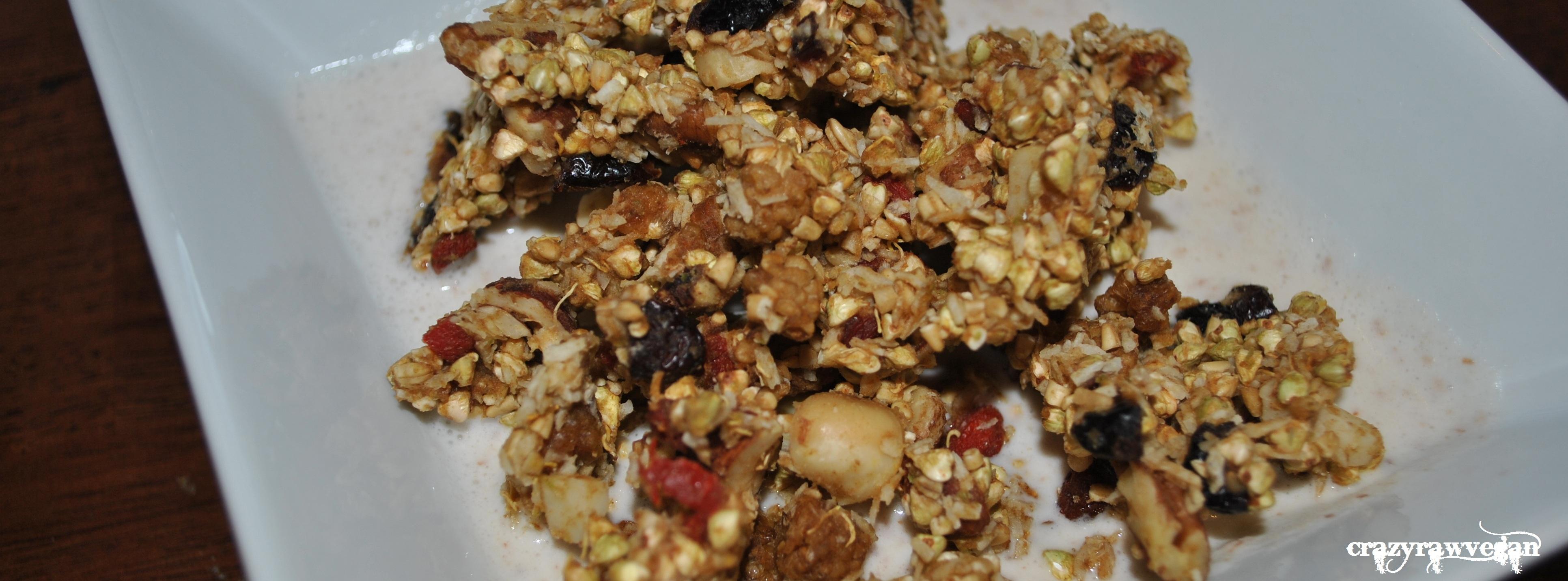 super-food crunchy-nut gra(w)nola