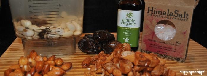 Almond Milk Ingredients