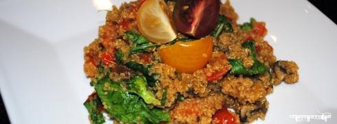 Moroccan Quinoa Pilaf