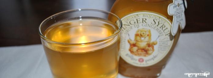 Ginger Syrup Kombucha