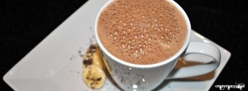Banana Chocolate Milk